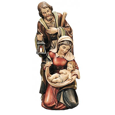 Holy Family group - Nativity - Wood Carvings