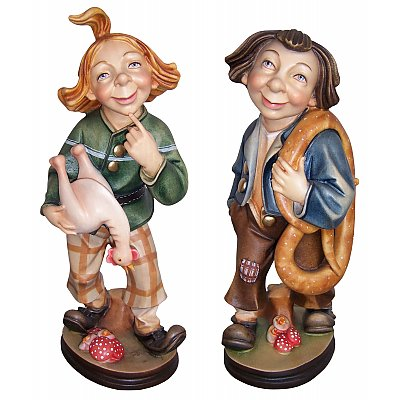 Fairy tale sculptures