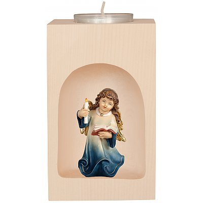 Candle light holder with Holy Family and other