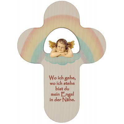 Crosses for Kids with protection Angel wooden