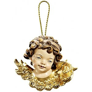 53000 - Angel head left looking Christmas tree decoration