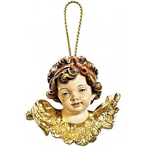 53100 - Angel head lookint  right Christmas decoration