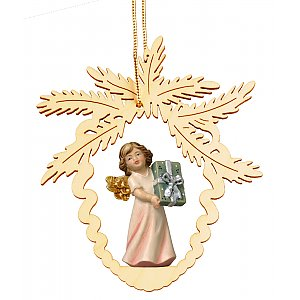6948 - Fir cone with angel present