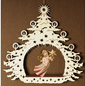 7031 - Christmas Tree with flying angel