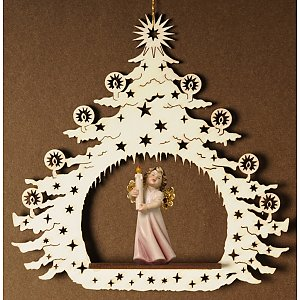 7032 - Christmas Tree with angel candle