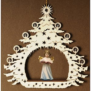 7040 - Christmas Tree with angel book