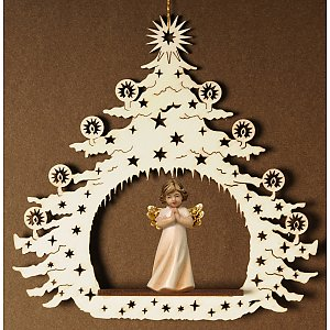 7041 - Christmas  tree with angel praying