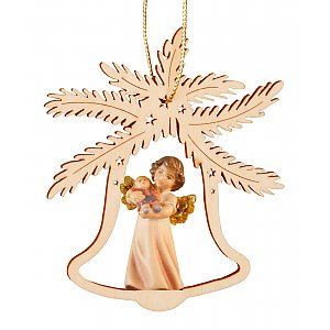 7065 - Bell with angel doll