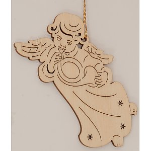 9607 - Laser - Angel with Horn 10 pcs