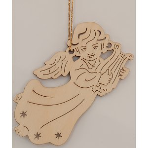 9608 - Laser - Angel with Lyre 10 pcs