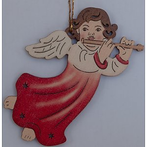 9610 - Laser - Angel with flute 10 pcs