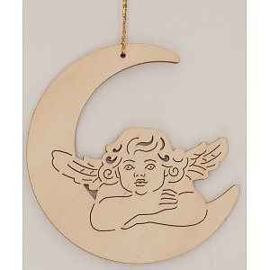 9613 - Laser - Angel on the moon 10 pcs