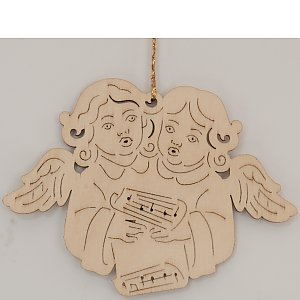 9614 - Laser - Couple of angels 10 pcs