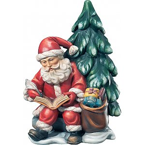 KD9002 - Santa Claus with book and tree