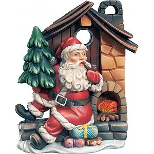 KD9005 - Santa Claus with house