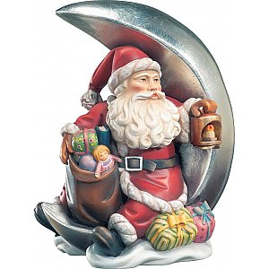 KD9007 - Santa Claus with moon and latern