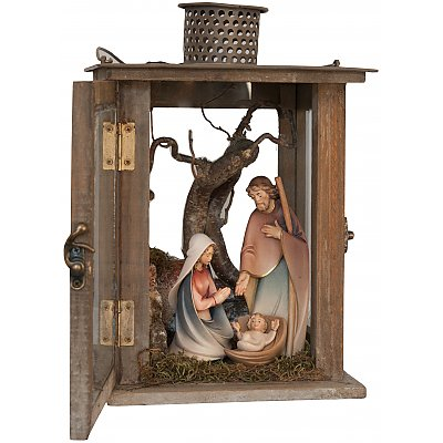 Lantern with Holy Family