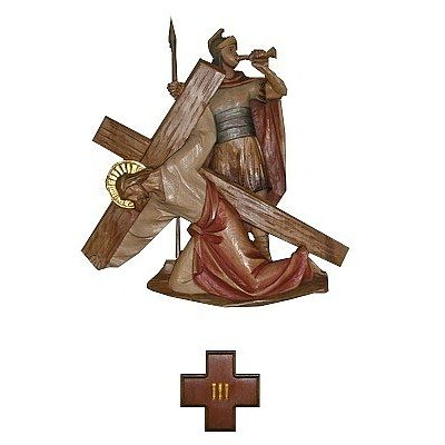 Via Crucis - wood carvings