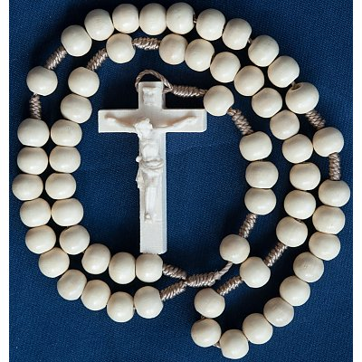 Wood Rosaries - Devotional Rosaries carved
