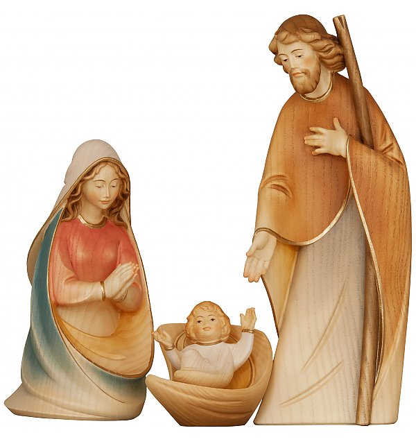 1801 - Holy Family - Morgenstern Nativity AQUARELL