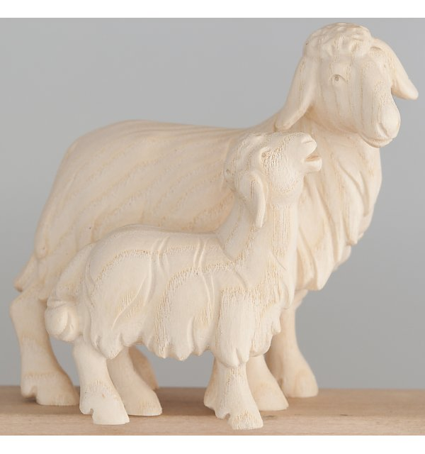 1855 - Sheep with lamb NATUR
