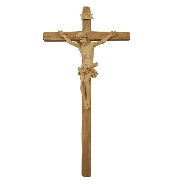 3060 - Baroque Crucifix with straight cross GOLDSTRICH