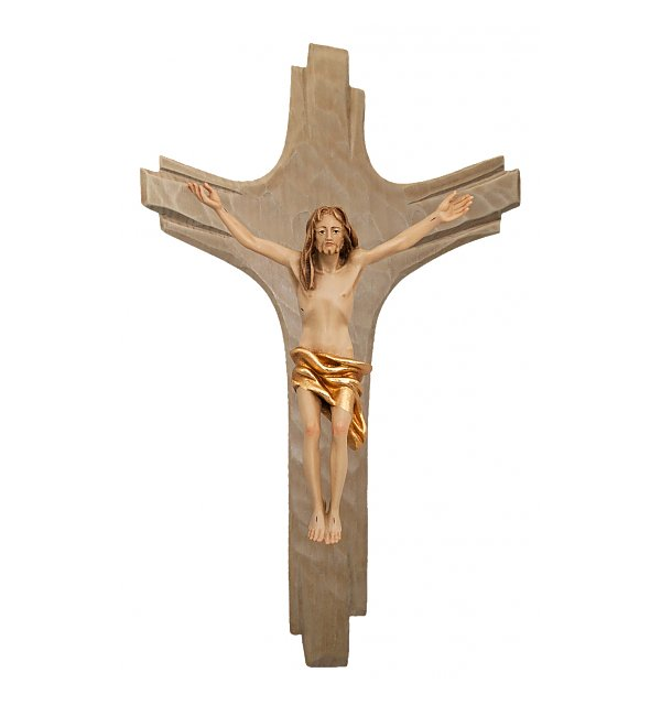 3130 - Crucifix with Cross rays - Christ Resurrection