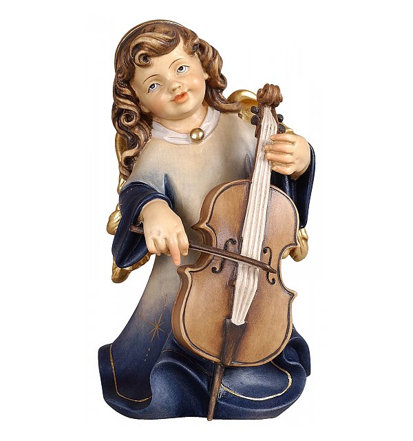 5391 - Alpine Angel with cello COLOR