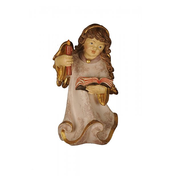 5394 - Alpine  Angel with candle ECHTGOLD