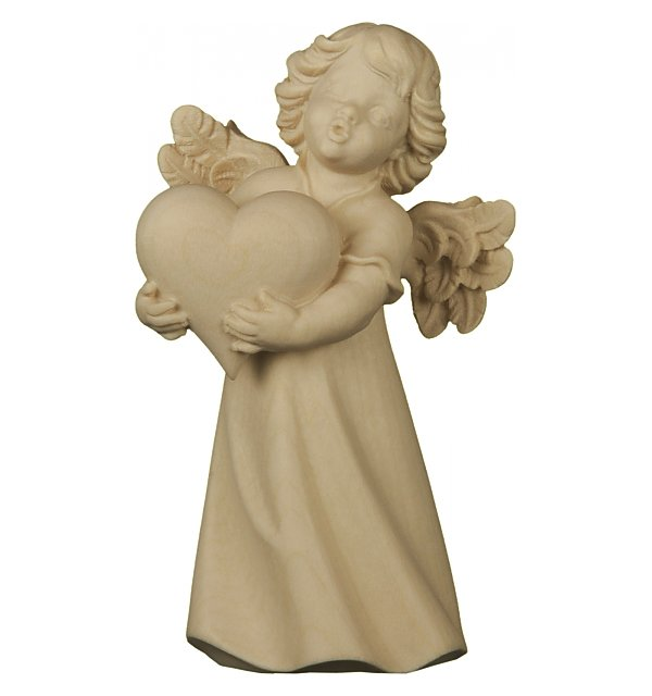 6203 - Mary angel with heart NATUR
