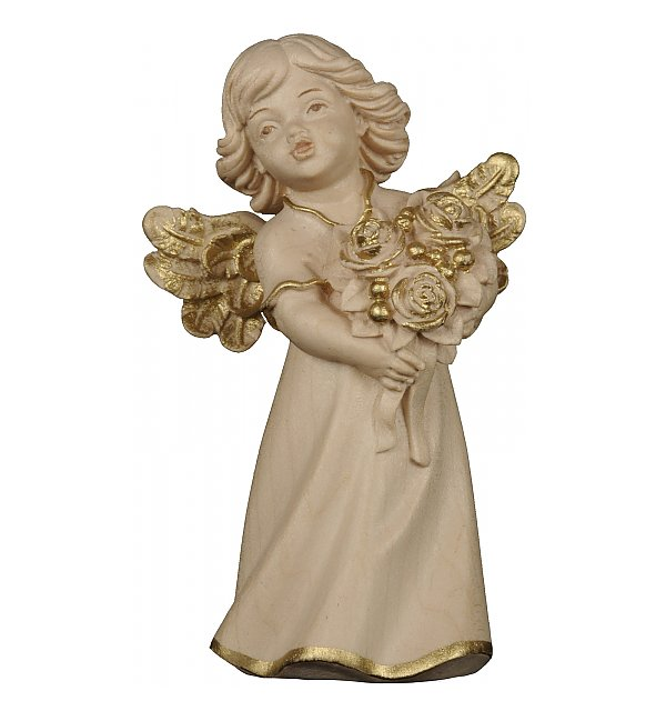 6204 - Mary angel with roses GOLDSTRICH