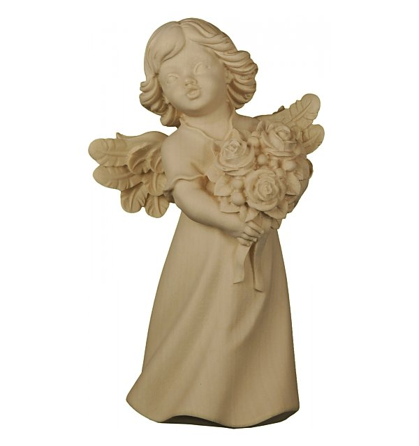 6204 - Mary angel with roses NATUR