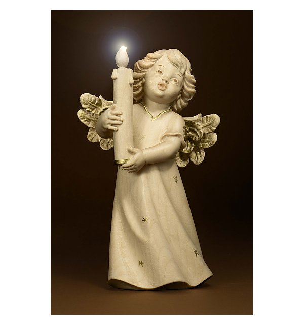 6211 - Mary angel with candle and illumination GOLDSTRICH