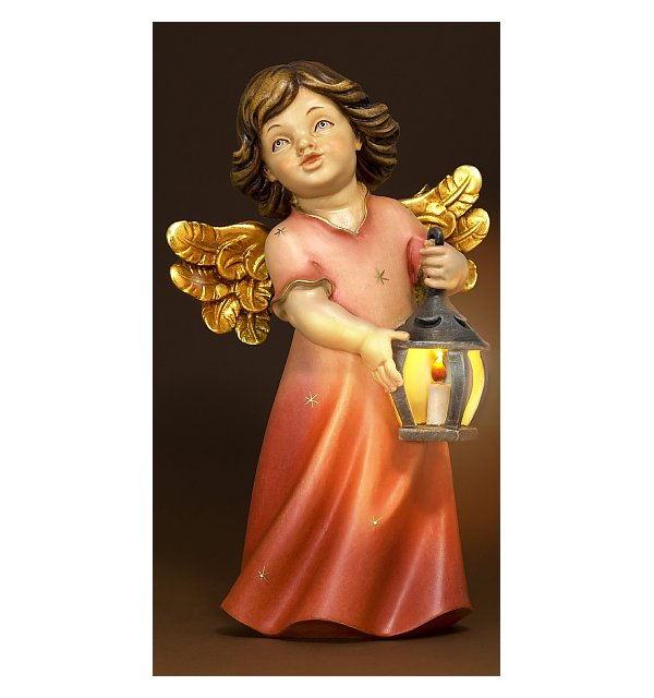 6212 - Mary angel with lantern and illumination COLOR