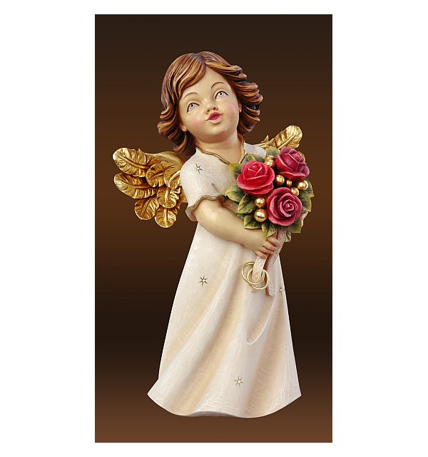 6215 - Wedding Angel with roses
