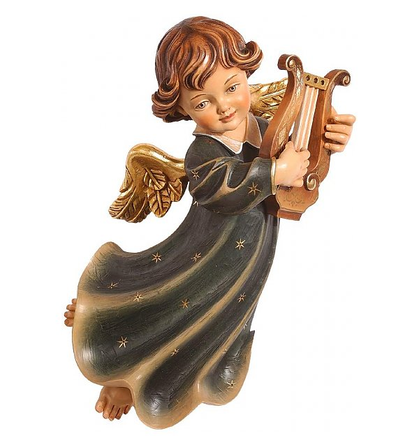 632L - Welcome Angel with lyre COLOR