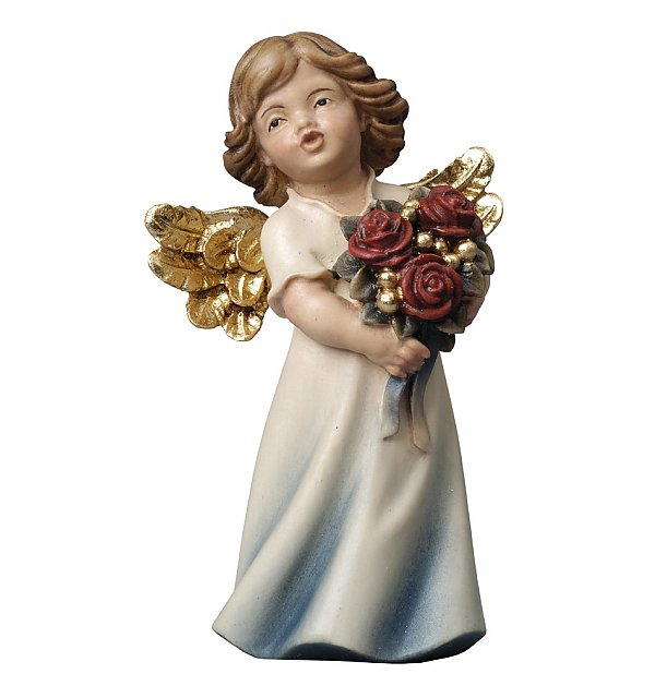 6374 - Mary Angel with roses