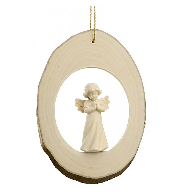 6711 - Branch disc with Mary Angel praying NATUR