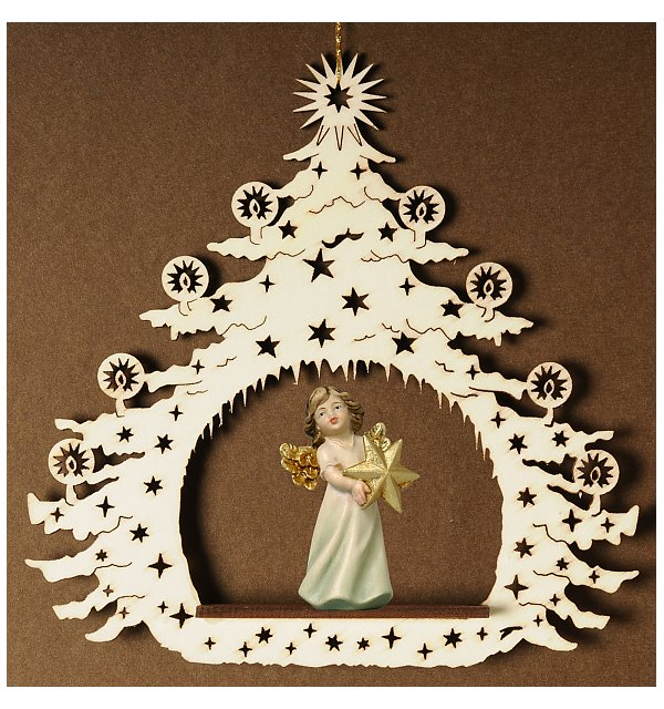 7043 - Christmas Tree with angel star