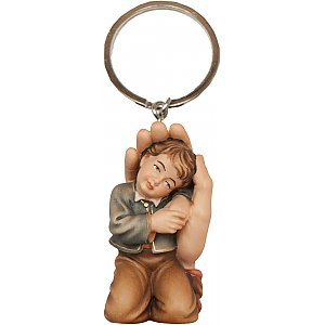 00371 - Keyring with Protection Boy