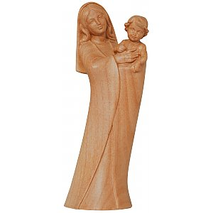 1060K - Madonna of the country in cherry wood