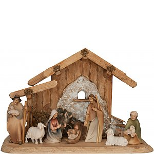 1796 - Morgenstern Nativity on stable for family