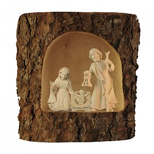 2752 - Holy Family in a tree trunk