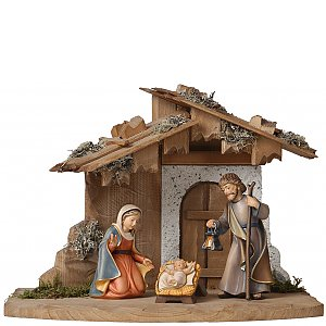 2780A - Stable for Holy Family with Holy Family Bethlehem