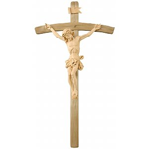 306L - Baroque Crucifix in Lime wood