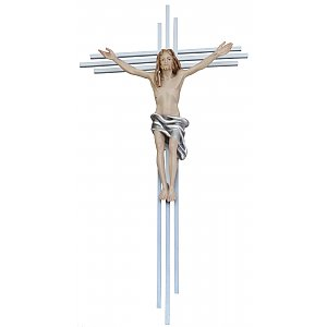 3099 - Crucifix modern, with cross in steel, 3