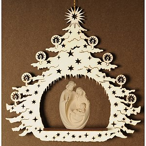 7121 - Christmas Tree with Holy Family group