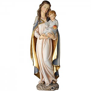 KD0145 - Madonna with child and apple