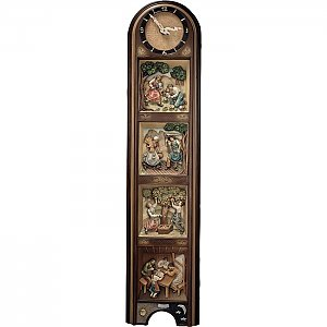 KD1291 - Clock 4 seasons vertical