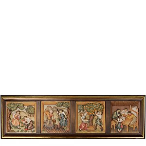 KD1305 - Relief 4 seasons with frame